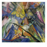 Tyrol, 1914 Reproduction procédé giclée par Franz Marc