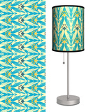 Deco Birds in Blue - Table Lamp Table Lamp