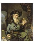 Der Monat Januar, 1642 Giclee Print by Joachim Von Sandrart