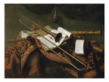 Stilleben Mit Trompete Und Floete Giclee Print by Franz Friedrich Franck