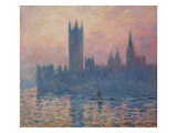 The Houses of Parliament, Sunset, 1903 Posters by Claude Monet