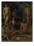 Golden Age Ii, 1880/1883 Giclee Print by Hans Marées