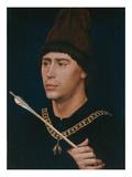 Portrait of Antoine, Bastard of Burgundy, about 1456 Kunstdrucke von Rogier van der Weyden