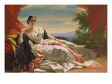 Leonilla Princess to Sayn-Wittgenstein-Sayn, 1843 Prints by Franz Xaver Winterhalter