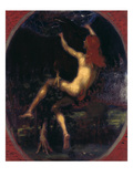 The Abduction of Ganymede, 1887 Giclee Print by Hans Marées