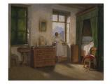 Die Morgenstunde, um 1860 Giclée-Druck von Moritz Von Schwind