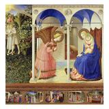 The Annunciation Giclée-tryk af Fra Angelico