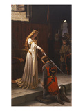 The Accolade, 1901 Poster by Edmund Blair Leighton