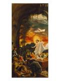 Resurrection of Christ (Exterior Panel of the Predella of the Sebastian Altarpiece), 1518 Kunstdrucke von Albrecht Altdorfer