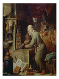The Alchemist Gicl&#233;e-Druck von David Teniers