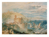 Falmouth Harbour, about 1825 Art by Joseph Mallord William Turner