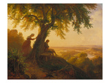 From Goethe's Hermann Und Dorothea, 1864 Giclee Print by Eugen Napolean Neureuther
