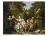 Der Heimliche Liebhaber Giclee Print by Jean-Baptiste Le Prince