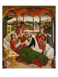 Death of Saint Corbinian (With View of Freising and Weihenstephan) Giclee Print by Jan Polack