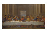The Last Supper. (Copy after Leonardo Da Vinci) Giclee Print by Nicolas Poussin