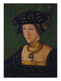 Queen Mary of Hungary, 1524 Giclee Print by Hans Krell