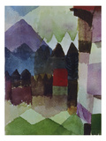 Foehn in the Garden of Franz Marc, 1915 Giclee Print by Paul Klee