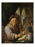 The Alchemist, 1680 Giclee Print by David Teniers the Younger