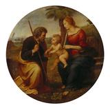 Die Hl. Familie Mit Der Palme Giclee Print