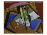 The Bordeaux Bottle, 1915 Giclee Print by Juan Gris
