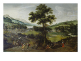 Landscape with Staffage , 1575 Giclee Print by Jacob Grimmer