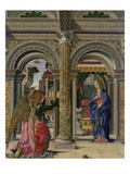 Annunciation, about 1470/72 Poster by Francesco del Cossa
