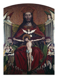 Holy Trinity Prints by  School of Krakow
