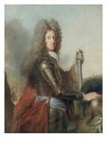 Portrait of Max Emanuel, Elector of Bavaria (1662-1726) Giclée-Druck von Joseph Vivien