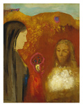 Christ and the Samaritan Woman Giclee Print by Odilon Redon
