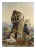 Jephthah&#39;s Daughter, 1885 Giclee Print by Alexandre Cabanel