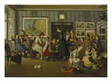 Girls' Boarding School, 1871 Giclee Print by Leopold Schauer