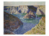 The Rocks of Belle Ile, 1886 Giclee Print by Claude Monet