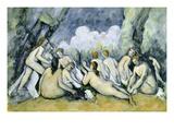 Bathers (Les Grandes Baigneuses) Prints by Paul Cézanne