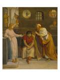 Traumdeutung Josephs, 1812 Giclee Print by Friedrich Wilhelm von Schadow