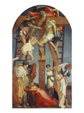 Descent from the Cross, 1521 Giclée-tryk af Rosso Fiorentino (Battista di Jacopo)