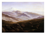 Erinnerungen an Das Riesengebirge, 1835 Giclee Print by Caspar David Friedrich