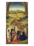 The Adoration of the Magi. (Center Panel of the Epiphany Altarpiece), about 1510 Giclee Print by Hieronymus Bosch