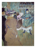Quadrille in the Moulin Rouge, 1885 Giclee Print by Henri de Toulouse-Lautrec