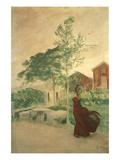 Stina, 1895 Prints by Carl Larsson