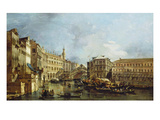 View of Rialto and the Palazzo Dei Camerlenghi Prints by Francesco Guardi