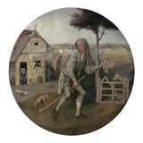 The Prodigal Son (The Vagabond) Giclee Print by Hieronymus Bosch