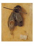 Still Life with Partridge, Armour Gloves and Crossbow Arrow, 1504 Giclee Print by Jacopo Barbari