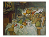 Still Life with a Basket of Fruit, 1888/90 Posters by Paul Cézanne