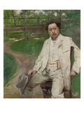 Portrait of the Pianist Conrad Ansorge, 1903 Prints by Lovis Corinth