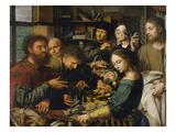 Berufung Des Matthaeus, 1536 Art by Jan Sanders van Hemessen