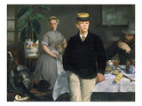 Luncheon in the Studio, 1868 Giclee Print by Edouard Manet