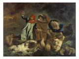 Dante Und Virgil in Der Hoelle (Oder: Die Dante-Barke), 1822 Art by Eugène Delacroix