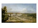 Schonbrunn Palace and Gardens Kunstdrucke von Bernardo Bellotto