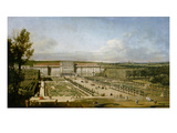 Schonbrunn Palace and Gardens Giclee Print by Bernardo Bellotto