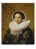 Sarah Wolphaerts Van Diemen, about 1634 Prints by Frans Hals